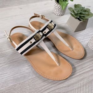 TOMMY HILFIGER twling nautical buckle sandals